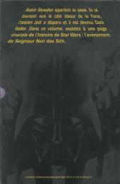 Verso de Star Wars - Dark Vador : Le Seigneur noir des Sith -INT- Dark Vador - Le seigneur noir des Sith