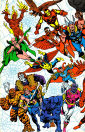 Verso de The official Marvel index to Marvel Team-Up (1986) -2- Issue # 2