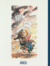 Verso de Pierre Tombal -HS3- Petites chroniques illustrées du temps du Covid selon Pierre Tombal