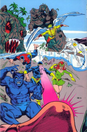 Verso de The official Marvel index to the X-Men (1987) -4- Issue # 4