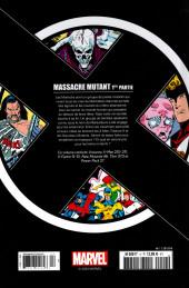 Verso de X-Men - La Collection Mutante -425- Massacre mutant 1ère partie