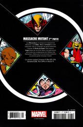 Verso de X-Men - La Collection Mutante -526- Mutant massacre 2ème partie