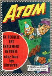 Verso de Captain Action -Rec01- Recueil N°48 (du n°1 au n°3)
