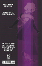 Verso de Batman: White Knight presents Harley Quinn (DC Comics - 2020) -2- Book Two