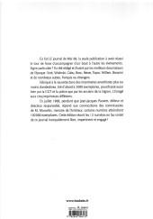 Verso de L'enragé (Collectif) - L'enragé