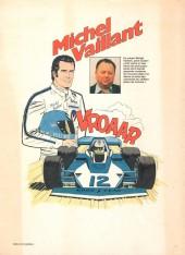 Verso de Michel Vaillant -34'- K.O. pour Steve Warson