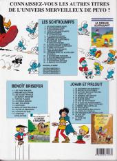 Verso de Les schtroumpfs - Schtroumpferies -3a2001- Schtroumferies - 3