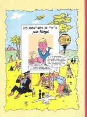 Verso de Tintin - Pastiches, parodies & pirates -27b2018- Tintin et la guinda