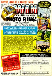 Verso de My greatest adventure Vol.1 (DC comics - 1955) -52- I Became the Sun Creature!