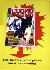 Verso de L'uomo Ragno (Editoriale Corno) V1 -86- Il Segreto di Schemer