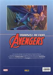 Verso de Marvel Action : Avengers -3- Les phobivores