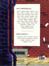 Verso de Natacha -HS01- Nostalgia - Spécial 20 ans
