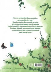 Verso de Permacomix - Permacomix - Vivre en permaculture, mode d'emploi