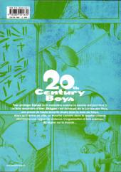 Verso de 20th Century Boys - Perfect Edition -4- Volume 4