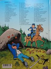 Verso de Les tuniques Bleues -4c2018- Outlaw