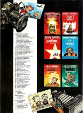 Verso de Spirou et Fantasio -26Pub- Du cidre pour les étoiles