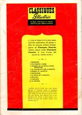 Verso de Classiques illustrés (1re Série) -1- Kidnappé