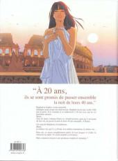 Verso de Une nuit à Rome -1c2012- Tome 1