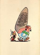 Verso de Astérix -10a1973- Astérix Légionnaire