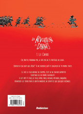 Verso de La révolution des damnés -1- Le chaos