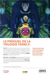 Verso de Marvels X : Le Dernier Humain - Marvels X: Le Dernier Humain