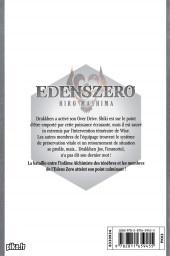 Verso de Edens Zero -12- L'avènement du Grand Démon