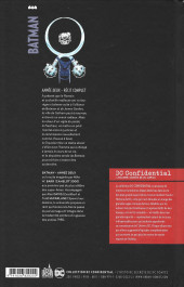 Verso de DC Confidential (Urban comics) -6- Batman : Année Deux