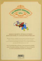Verso de Les grandes aventures Disney de Romano Scarpa -8- Oncle Picsou contre Lord Hambar et autres histoires (1962-1963)
