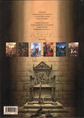 Verso de Le trône d'Argile -3a2019- Henry, roi de France et d'Angleterre