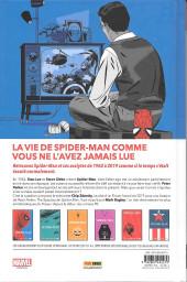 Verso de Spider-Man : L'Histoire d'une vie -VC2- Spider-man : l'histoire d'une vie