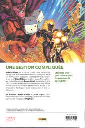 Verso de Ghost Rider -1- Le roi de l'Enfer
