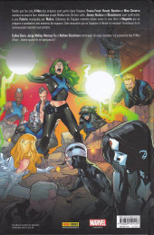 Verso de X-Men: Blue -3- Hurlements