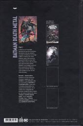 Verso de Batman : Death Metal -2- Tome 2
