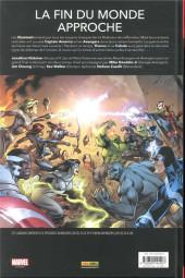 Verso de Avengers - Time Runs Out -INT1- Tu ne peux pas gagner