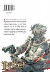 Verso de Baltzar, la guerre dans le sang -8- Tome 8
