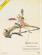 Verso de Norbert et Kari -2- Le gugusse et les petits mutins