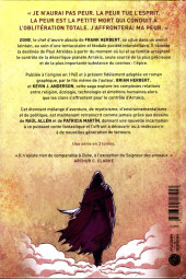 Verso de Dune : Roman Graphique -1- Livre 1