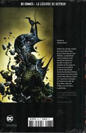 Verso de DC Comics - La légende de Batman -86- Arkham knight