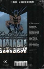 Verso de DC Comics - La légende de Batman -87- Les tourments de double-face