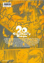 Verso de 20th Century Boys - Perfect Edition -5- Volume 5