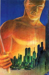 Verso de The fantaco Chronicles Series (1981-1982) -3- Daredevil Chronicles