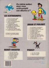 Verso de Johan et Pirlouit -9c1983- La flûte à six schtroumpfs