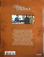 Verso de Histoire de France en bande dessinée -49- La Grande Guerre de Verdun à la victoire 1916/1918