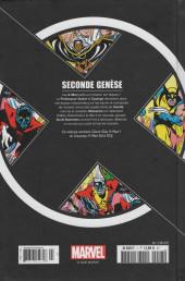 Verso de X-Men - La Collection Mutante -701- Seconde Génèse