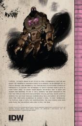 Verso de Teenage Mutant Ninja Turtles (IDW collection) -10- TMNT IDW Collection #10