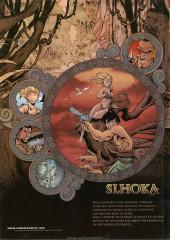 Verso de Slhoka -1a2003- L'île oubliée