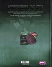 Verso de Nellie Bly (Ollagnier/Maurel) - Nellie Bly - Dans l'antre de la folie