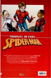 Verso de Marvel Action : Spider-Man -1- Nouveau Départ