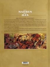 Verso de Les maîtres des îles -3- Saint-Pierre, Martinique, 1848