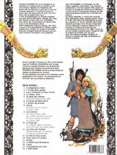 Verso de Thorgal -18- L'Épée-Soleil